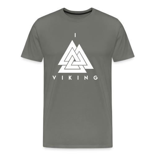 I lov Viking White - T-shirt Premium Homme