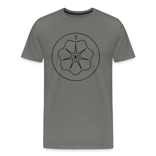 Rudis Saturn Siegel - Männer Premium T-Shirt