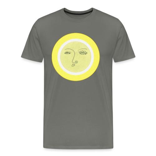 Sonne - Gesicht - Männer Premium T-Shirt