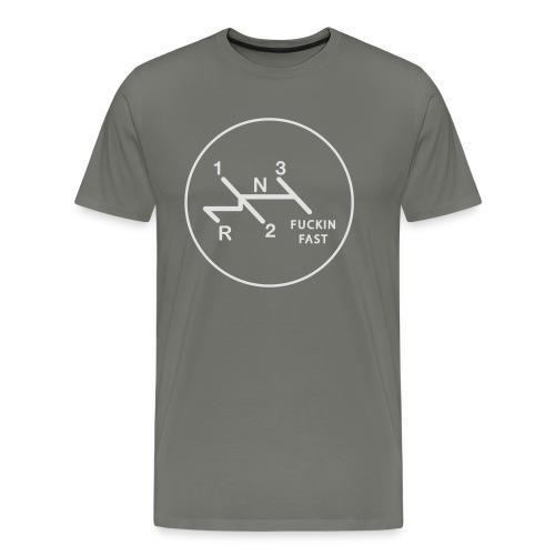 Schaltschema und Co FuckinFast - Männer Premium T-Shirt
