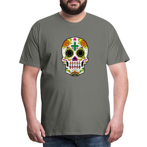 skull4 - Maglietta Premium da uomo