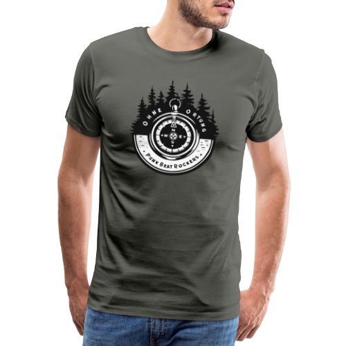 PBR Kompass 🧭 - Männer Premium T-Shirt