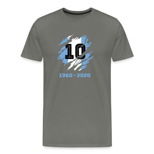 Homenaje a Maradona - Camiseta premium hombre