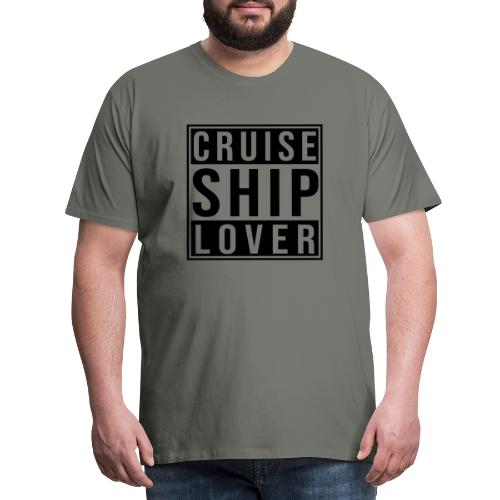 Kreuzfluenzer - Cruise Ship Lover - Männer Premium T-Shirt