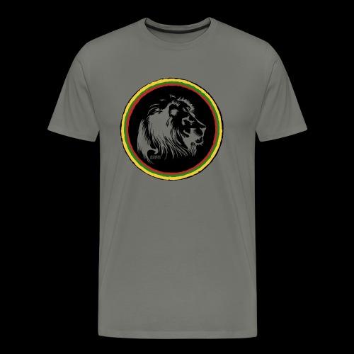 LION HEAD SISSOR CUT UNDERGROUND SOUNDSYSTEM - Männer Premium T-Shirt