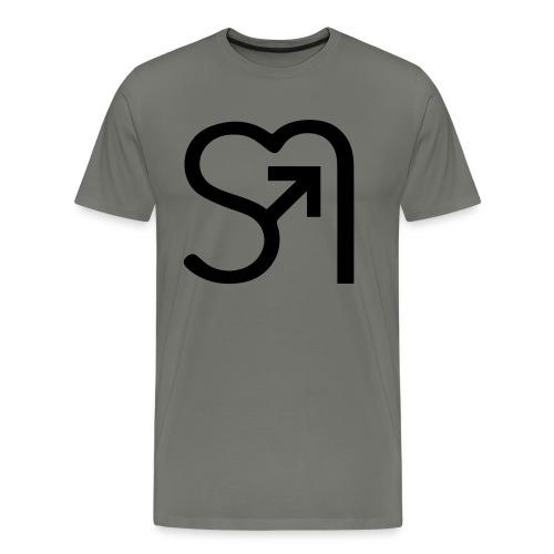 nurlogo - Männer Premium T-Shirt