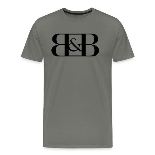 B B - Mannen Premium T-shirt