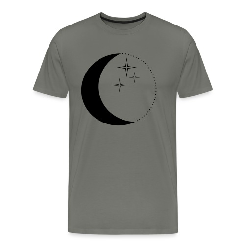 Moon and stars - Männer Premium T-Shirt