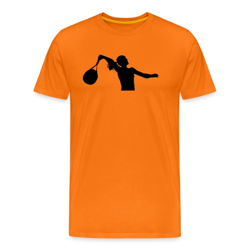 tennis silouhette 6 - T-shirt Premium Homme