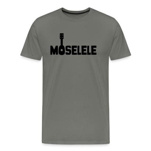 moselelelogoblack - Men's Premium T-Shirt