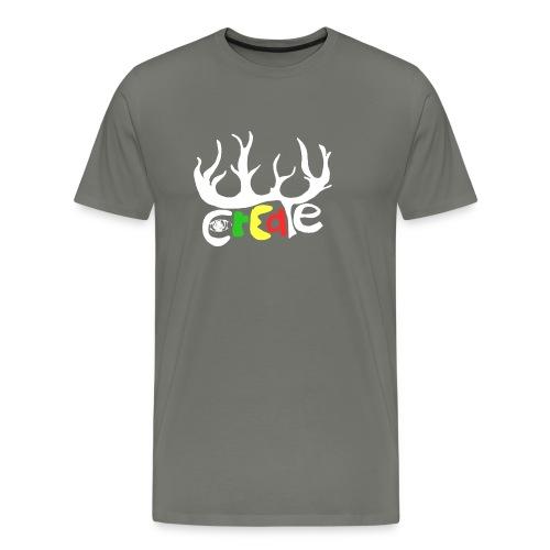 create white - Männer Premium T-Shirt