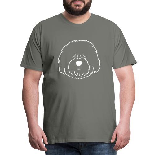 Old English Sheepdog #1 - Herre premium T-shirt