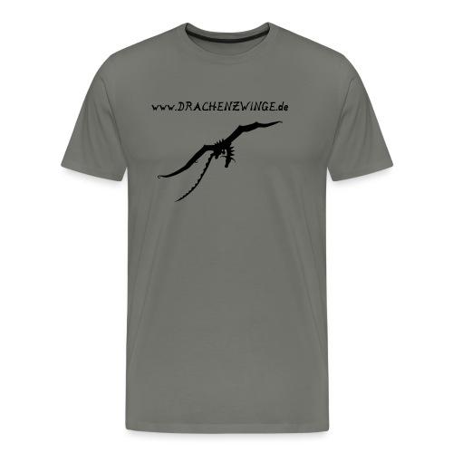 drache und schrift - Männer Premium T-Shirt