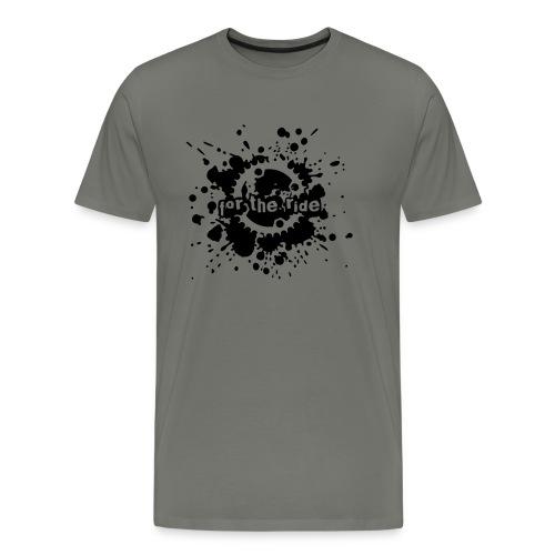 For the Ride Splatter - Men's Premium T-Shirt