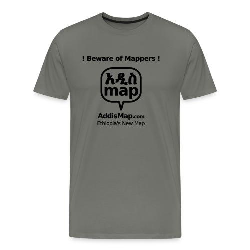 bewareofmappers - Männer Premium T-Shirt