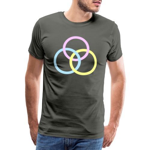 Circles - Maglietta Premium da uomo