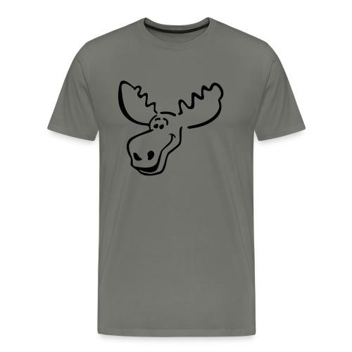 elch_pur - Männer Premium T-Shirt