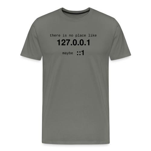 127-0-0-1-::1 - T-shirt Premium Homme