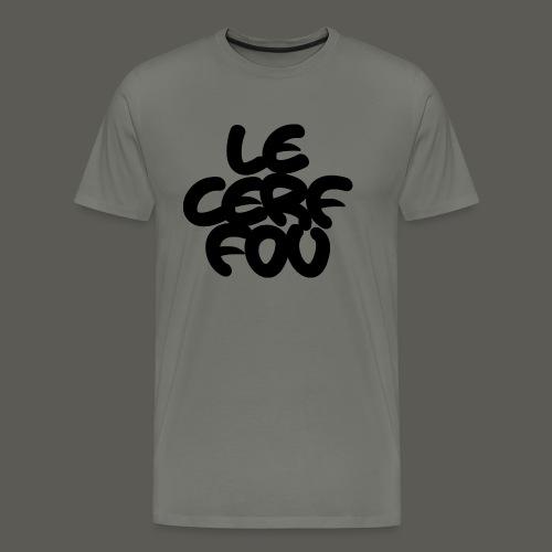 le logo urbain verticale logo - Herre premium T-shirt