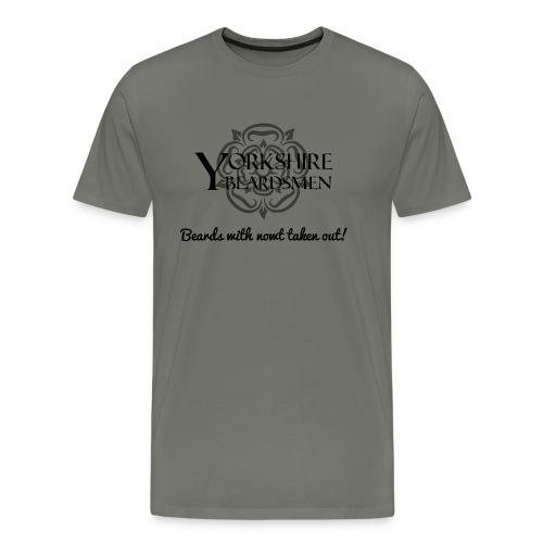 beardsnowt png - Men's Premium T-Shirt