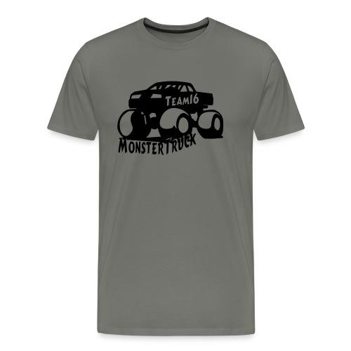 logo mtteam16 noir - T-shirt Premium Homme