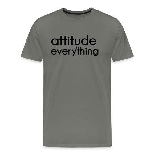 Attitude is everything - Mannen Premium T-shirt
