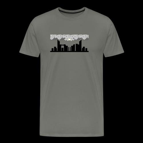 Un ombre plane sur la ville... - T-shirt Premium Homme