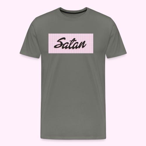 Satan cap - Miesten premium t-paita