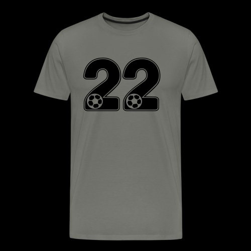 foot numero 22 - Men's Premium T-Shirt
