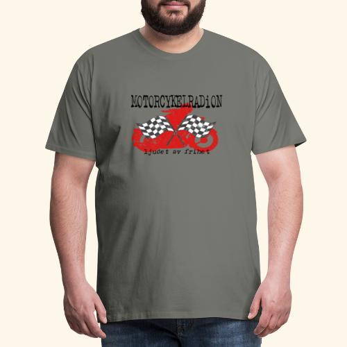 Motorcykelradion.se - Premium-T-shirt herr