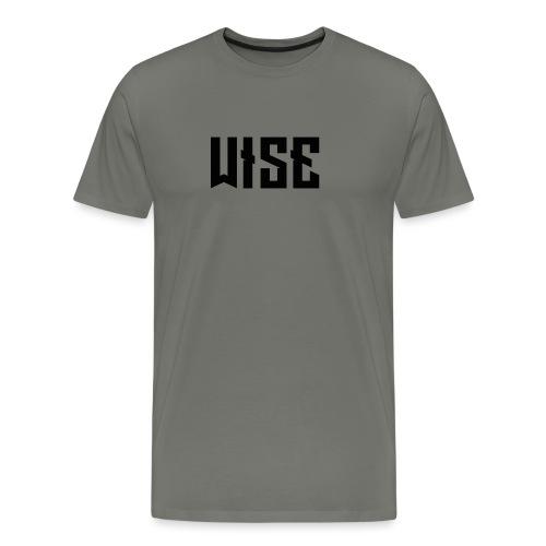 Wise SNAPBACK - Men's Premium T-Shirt