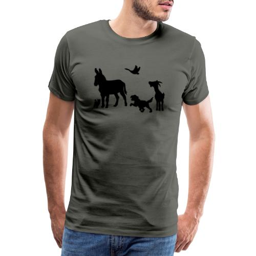 Logo - Tiere im Einklang - Männer Premium T-Shirt