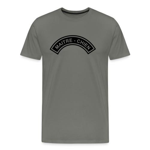 Ecusson Maitre-Chien demilune - T-shirt Premium Homme