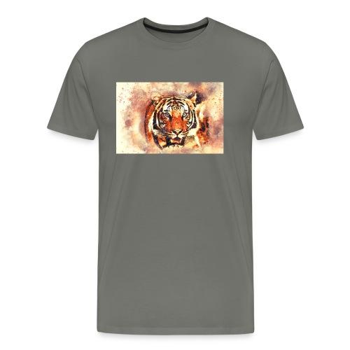 Tiger NO 1 - Männer Premium T-Shirt