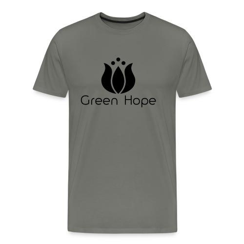 Logo + Ens GreenHope - T-shirt Premium Homme