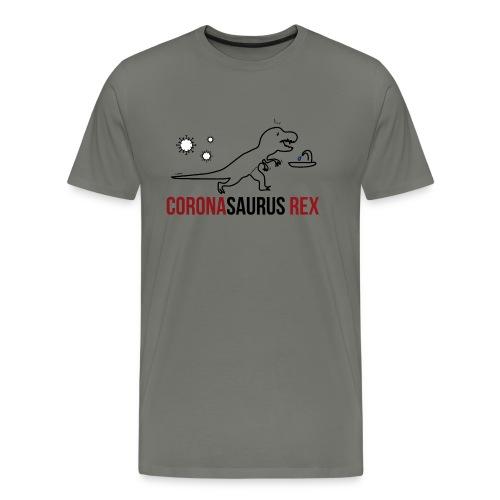 Coronasaurus Rex - Männer Premium T-Shirt