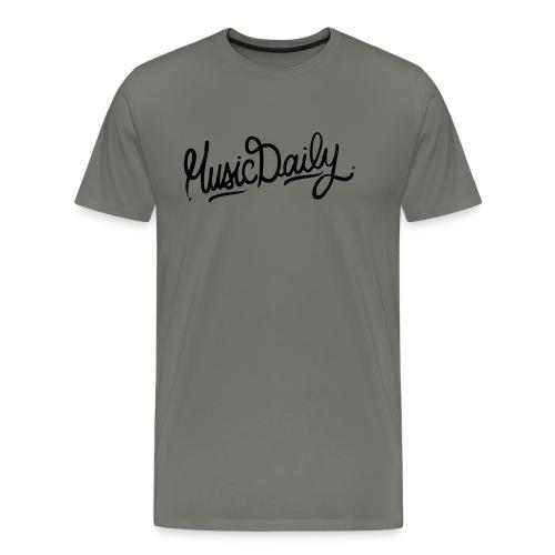 MusicDaily Logo - Mannen Premium T-shirt