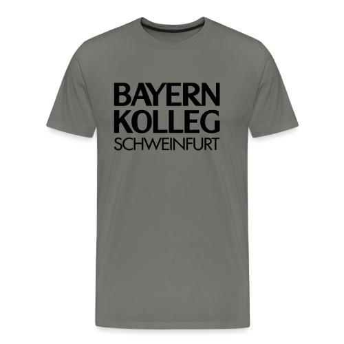 bayern kolleg schweinfurt - Männer Premium T-Shirt