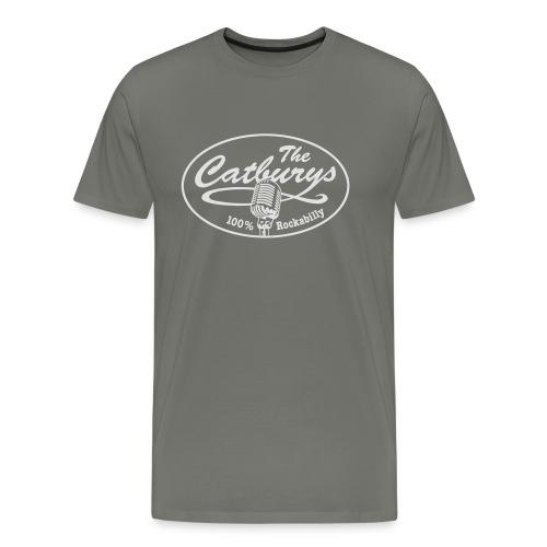 catburys vektor vektor kreis weiss - Männer Premium T-Shirt