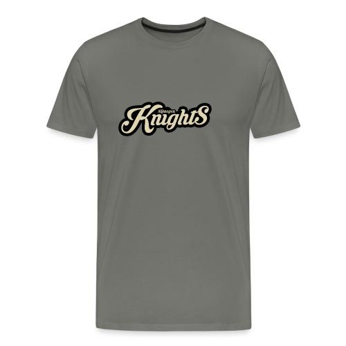 classic logo - Mannen Premium T-shirt