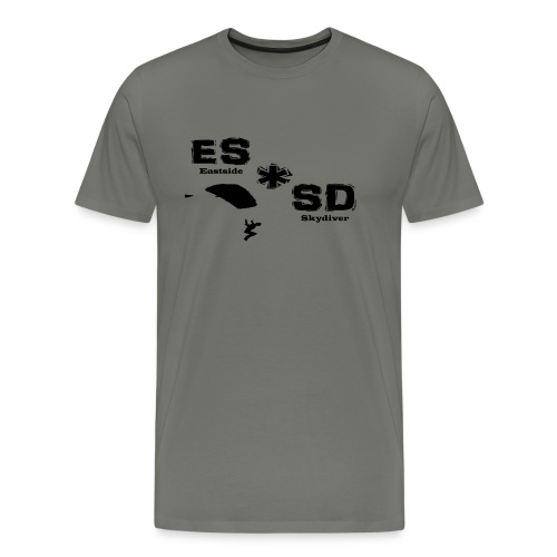Eastsideskydiver - Männer Premium T-Shirt
