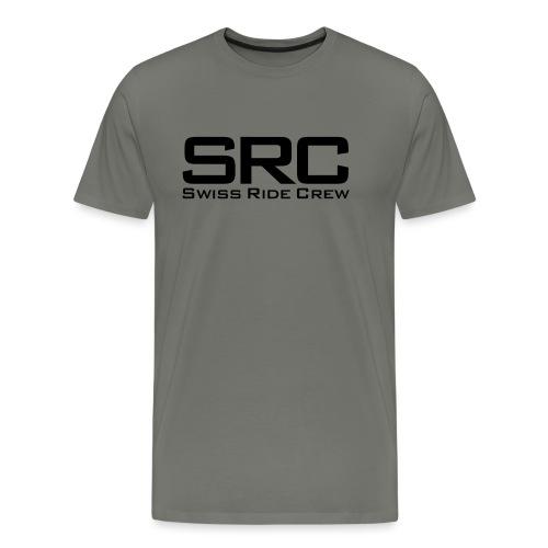 SRC Snapback Schwarz - Männer Premium T-Shirt
