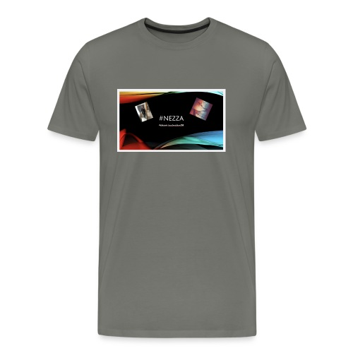 Nezza Tiktokerin❤️ - Männer Premium T-Shirt