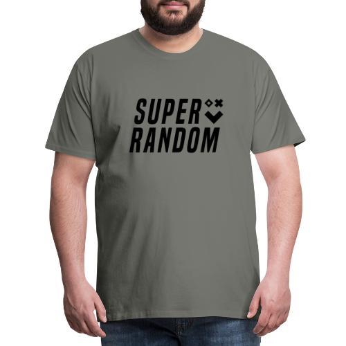 SUPER RANDOM BLACKEDOUT - Men's Premium T-Shirt