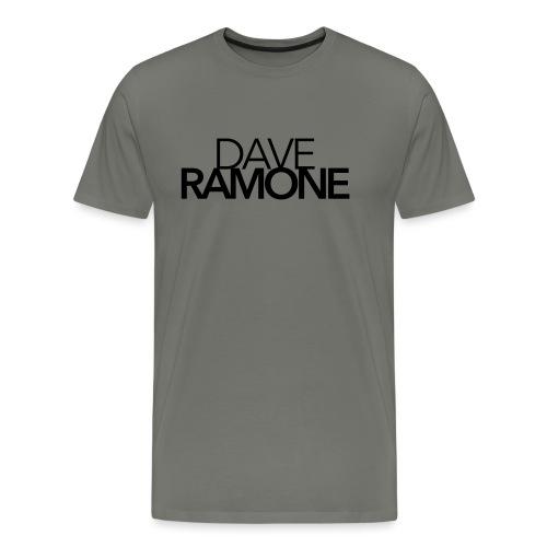 Dave Ramone Schrift - Männer Premium T-Shirt