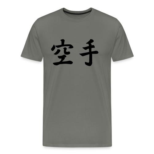 karate - Mannen Premium T-shirt