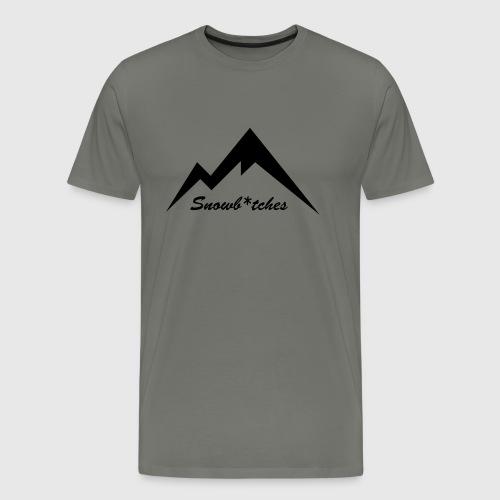 Mountains Logo (W) - Men's Premium T-Shirt