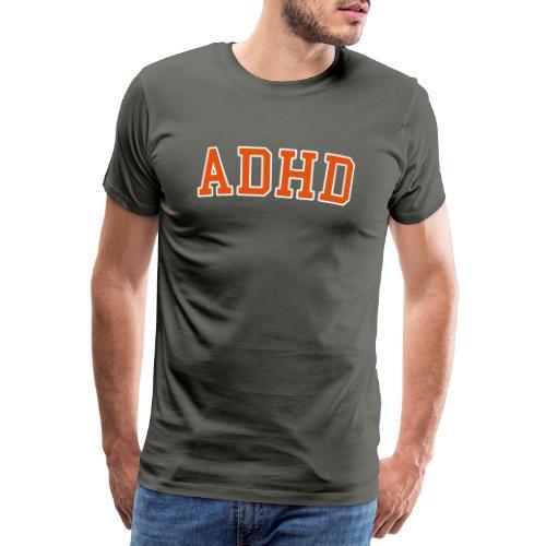 ADHD College - Miesten premium t-paita
