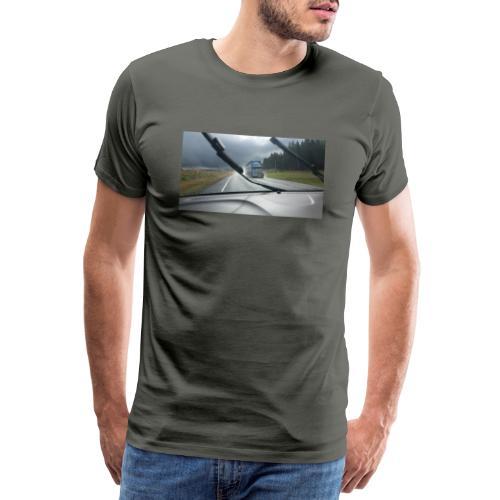 LKW - Truck - Neuseeland - New Zealand - - Männer Premium T-Shirt