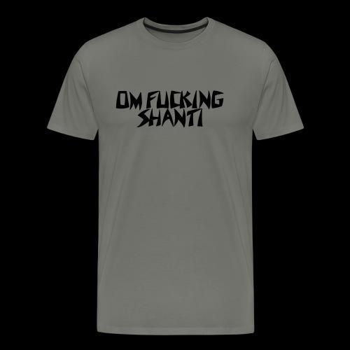 Yogadude-OFS - Männer Premium T-Shirt